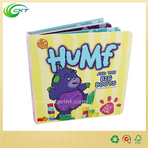 Offset Printing Full Color Die Cut Children Book / Children Board Book/A5 Softcover Baby Children Book (CKT-BK_005)