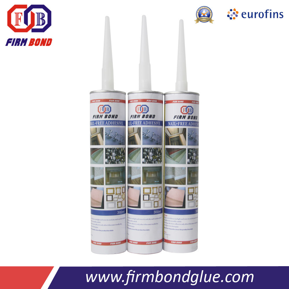 High Performance Nail Free Glue for Joining Stone