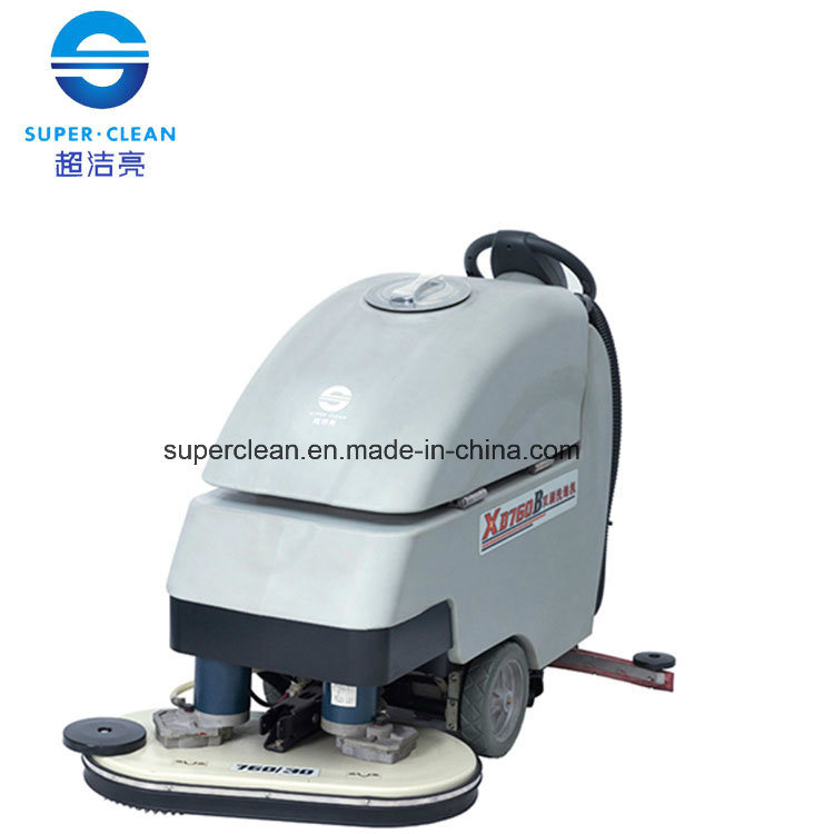 China Xd760b Industrial 15inch Dual Brush Auto Floor Scrubber (floor  Cleaning Machine)   China Floor Scrubber, Scrubber