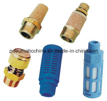 Plastic Silencer with Particale Inside, Muffler
