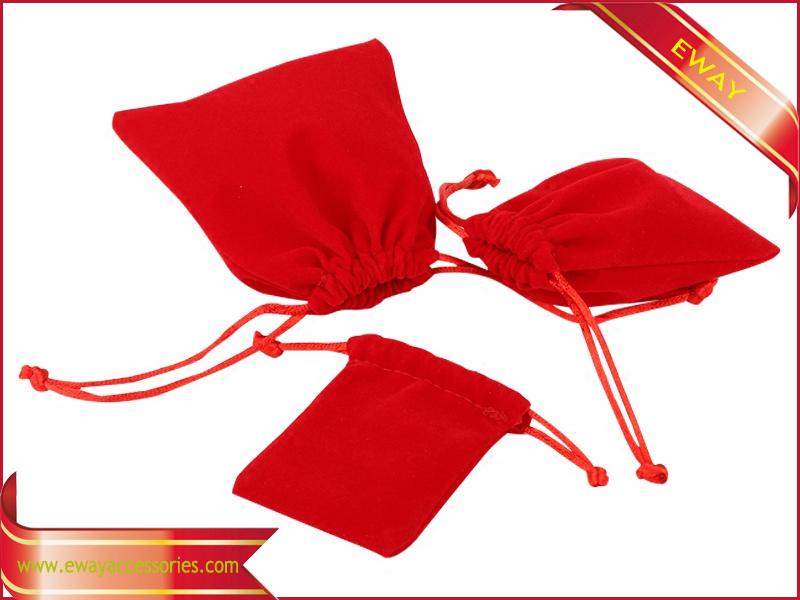 Jewelry Packing Bag Gift Promotional Bag Velvet Drawstring Bag