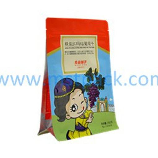 Dry Fruit Box Bag, Flat Bottom Bag