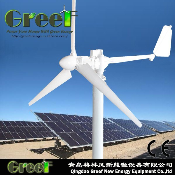 1-100kw PV and Wind Hybrid Power System for Farm, House, Factory