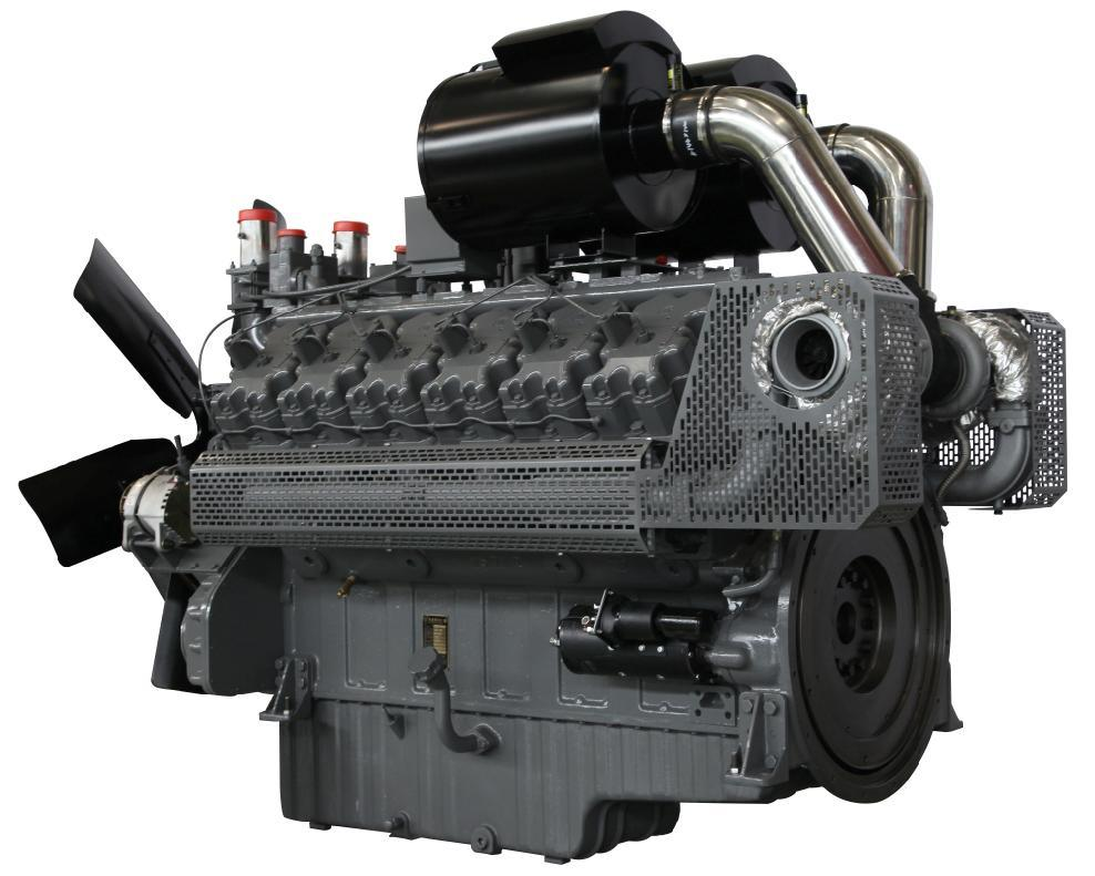 Wandi Holset Turbocharge 4-Stroke Diesel Engine