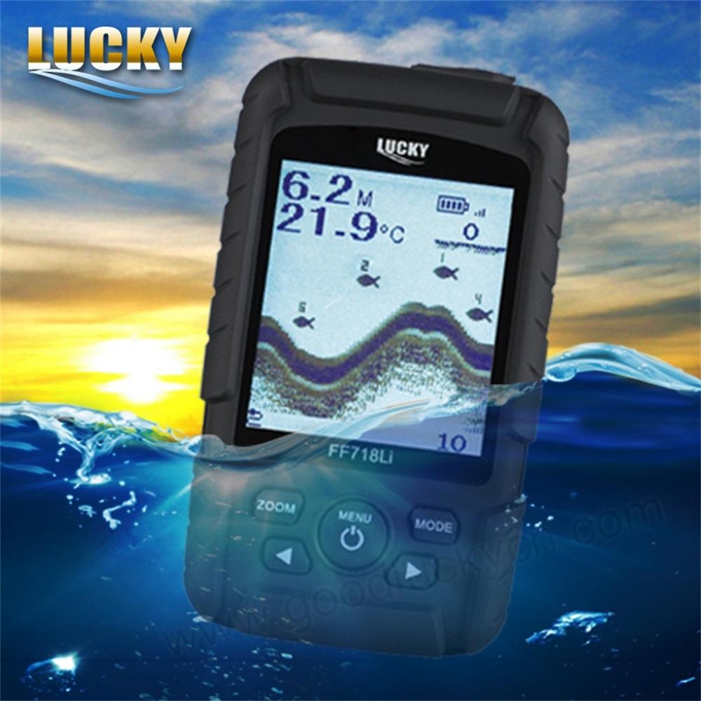 Waterproof Long Range Wireless Sonar Fishfinder (FF718Li-W)