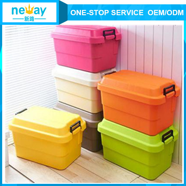Diversified Latest Designs Plastic Storage Box