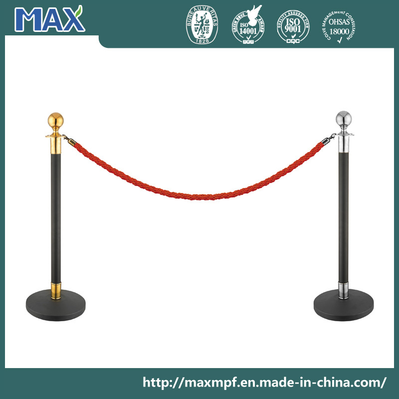 Crowd Control Rope Stanchion for Airport