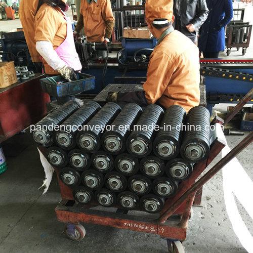 Rubber Conveyor Roller / Impact Roller / Carrying Idler Roller