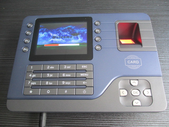 Rams Software Biometric Fingerprint RFID Card Reader