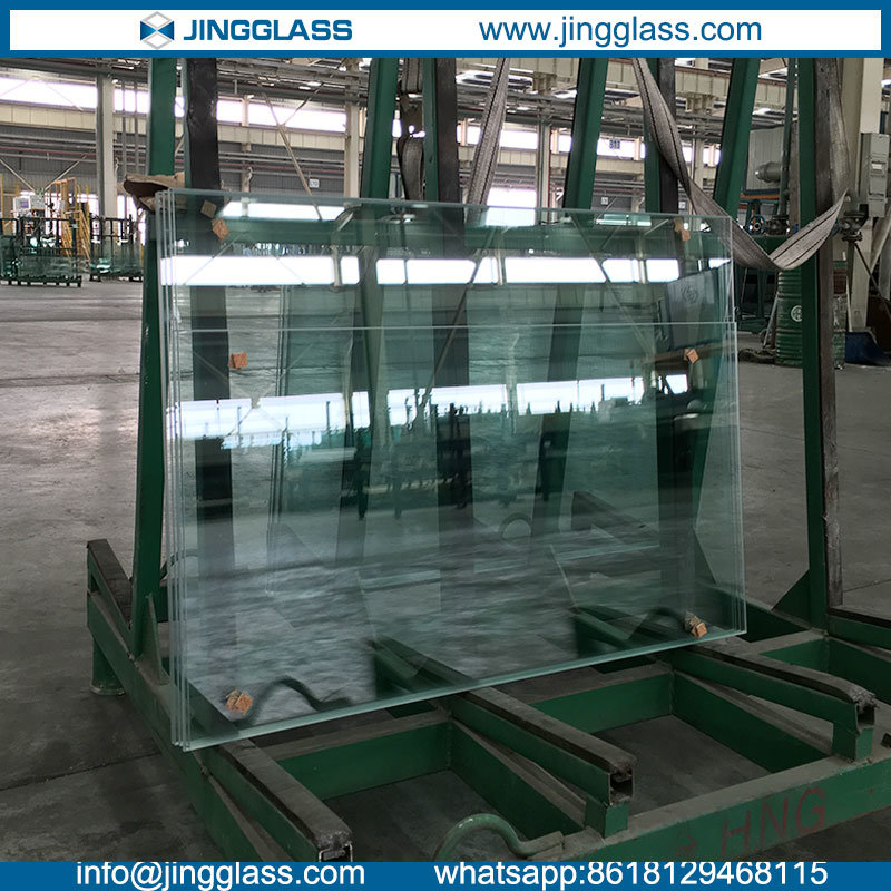 Safety Construction Building Fully Tempered Glass Door