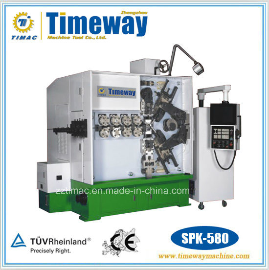 Five-Axis CNC High Efficiency Wire Spring Coiling Bending Machine