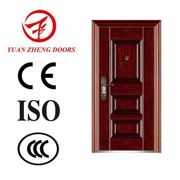 Security Swing Steel Door with Good Price