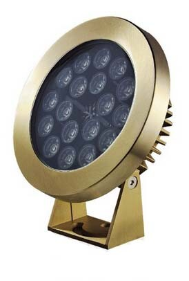 New Design Brass IP68 LED Underwater Fountain Light
