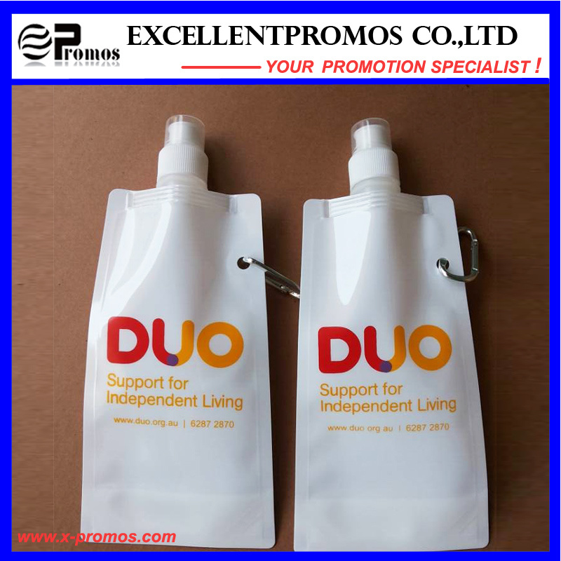 Promotional Popular Cheap Custom Foldable Water Bottle (EP-B7154)
