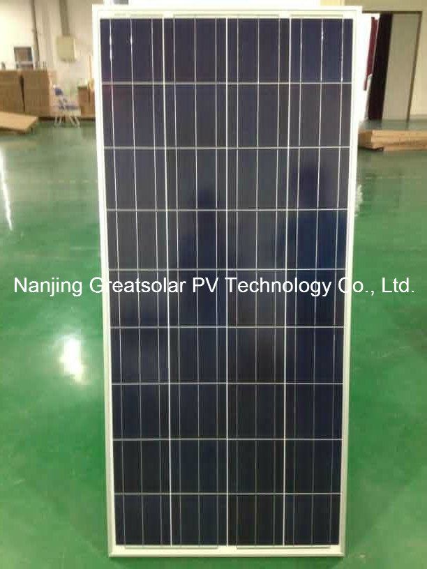 Excellent Price with Good Quality 130W-150W Poly Solar Panel