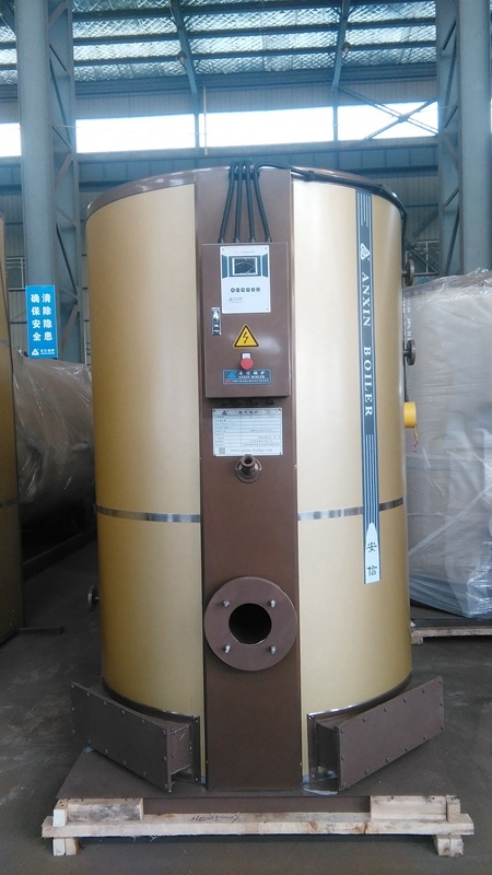 Vertical Oil or Gas Fired Steam Boiler