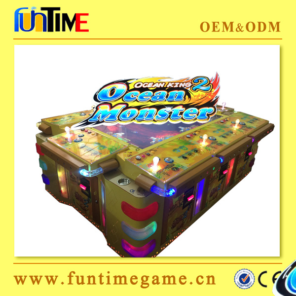 Amusement Arcade Fishing Game Machine with Bill Acceptor and Thermal Printer