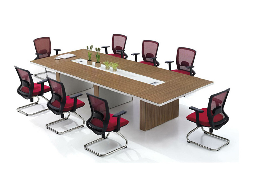China Office Furniture New Design Medium Size Wooden Conference ...