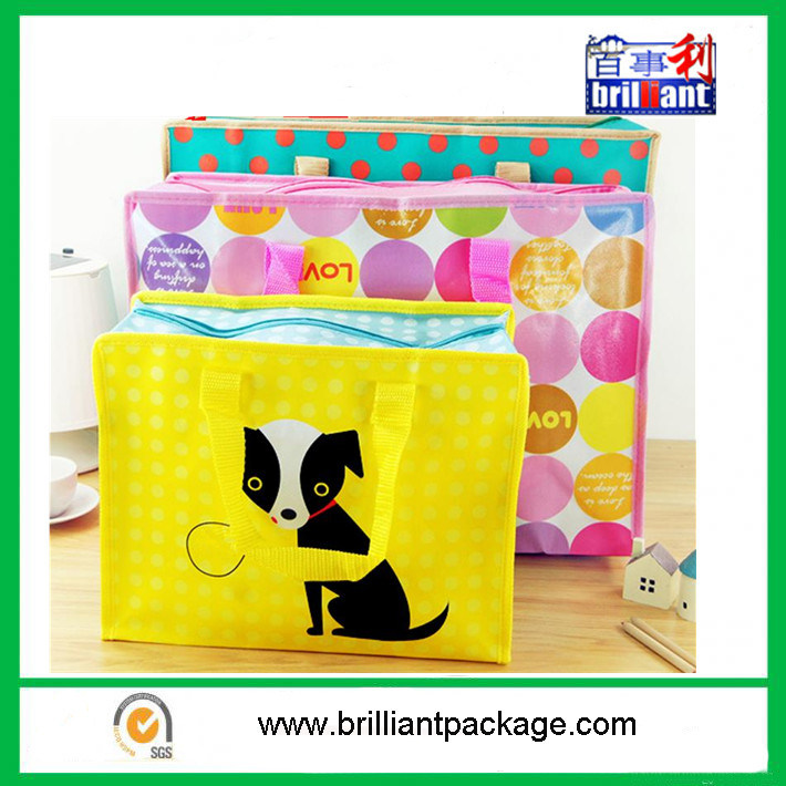 Promotional PP Nonwoven Tote Bag for Storage