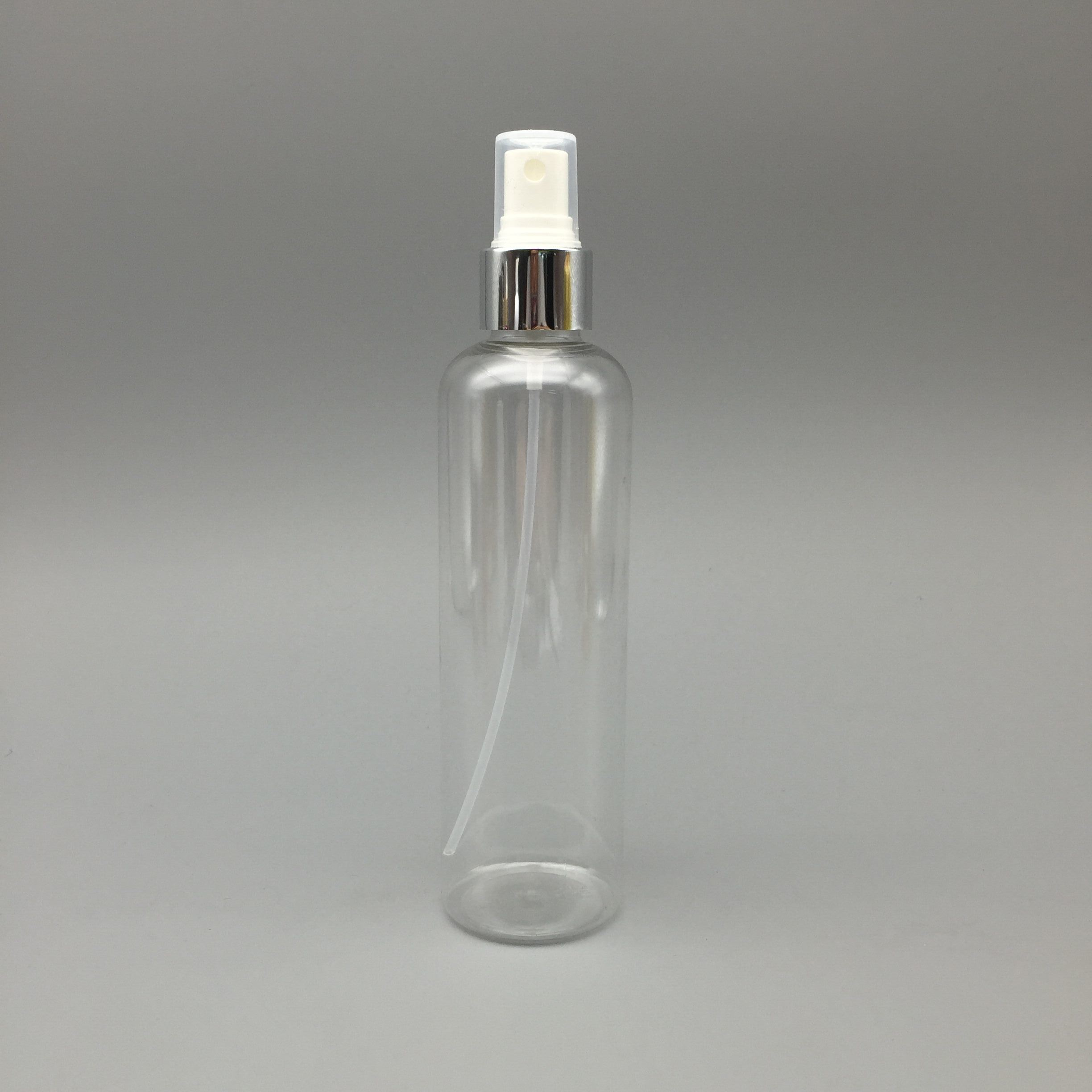 250ml Pet Plastic Bottle Sprayer Cosmetic Packaging