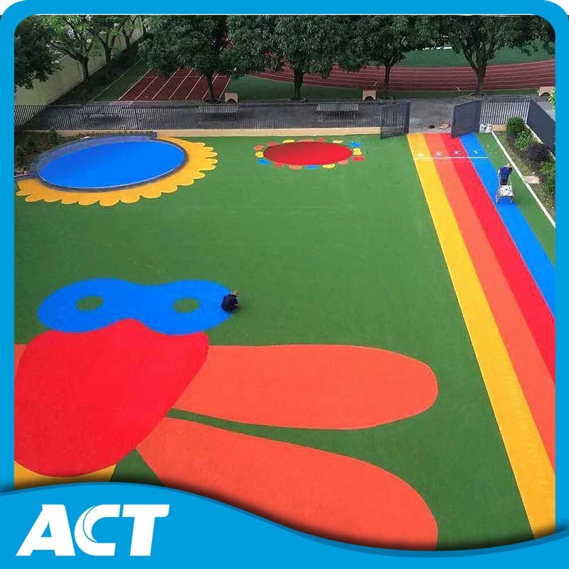 Cute Landscape Grass for Kids Non-Toxic Synthetic Grass Kindergarten