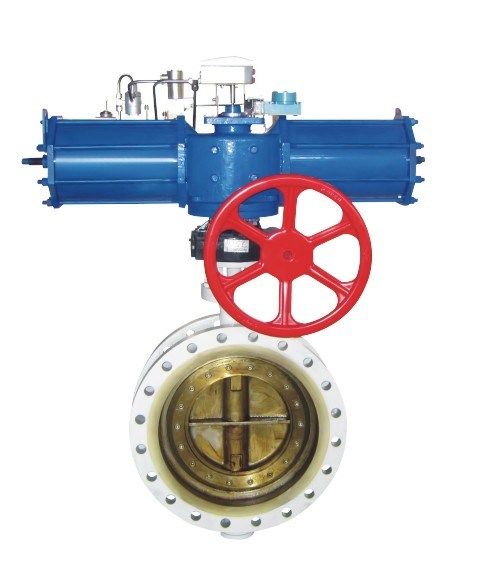 Ce API609 Electric High Performance Three-Eccentric Butterfly Valve