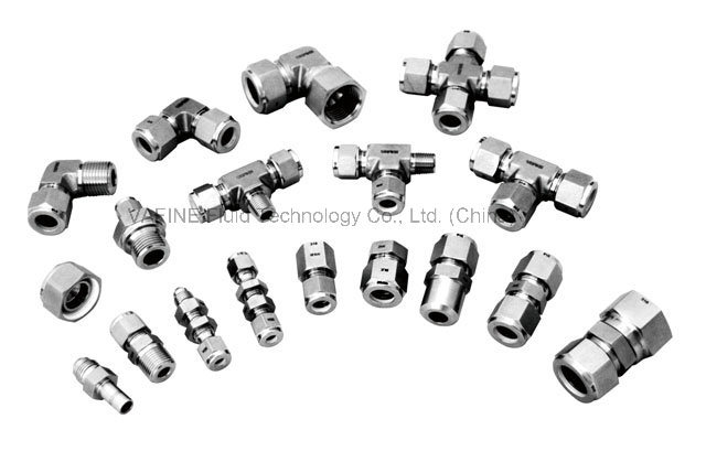 Stainless Steel Two Ferrule Tube Fittings