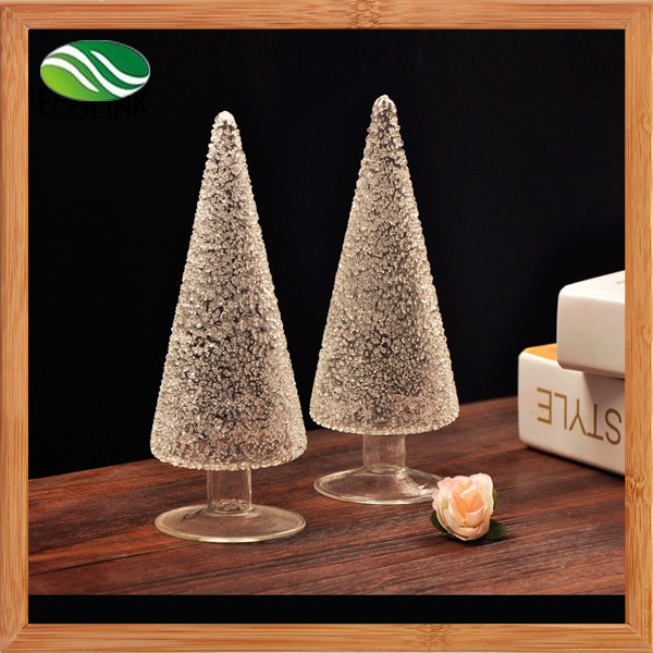Home Decoration Glass Christmas Tree