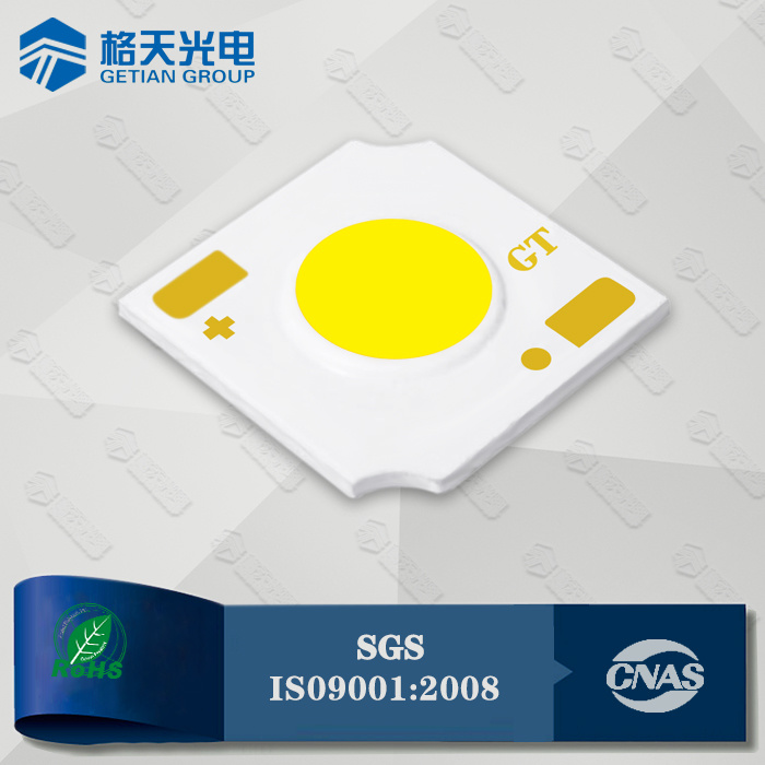 High Color Rendering Index CRI90 COB LED 12W 110lm/W for Spot Light