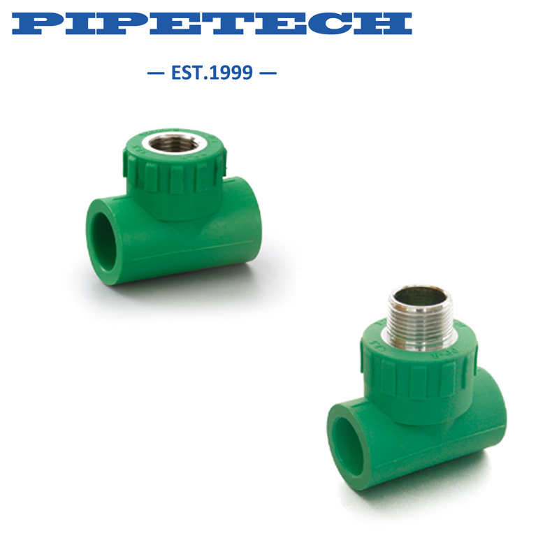 PPR Concealed Installation Ball Valve with Brass Ball