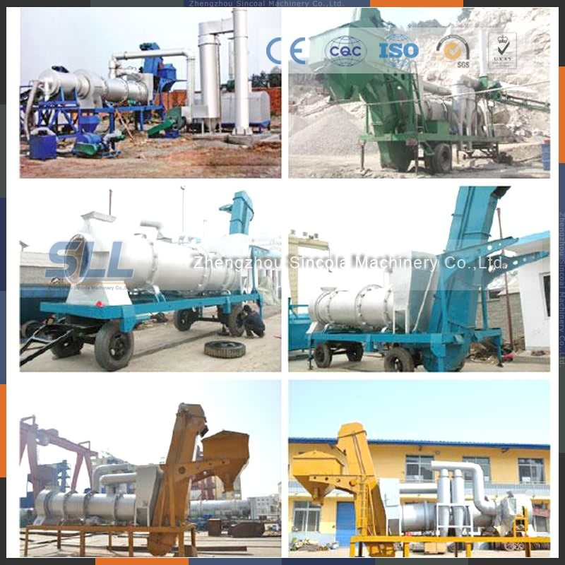 Low Price 40 Tph Bitumen Asphalt Mixing Machine for Sale