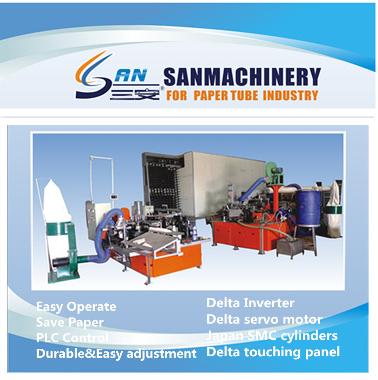 New Pneumatic Type Automatic Paper Cone Making Machine
