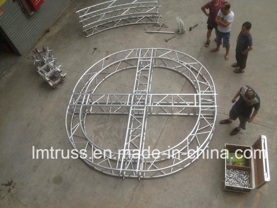 Stage Lighting Aluminium Exhibition Advertising Truss