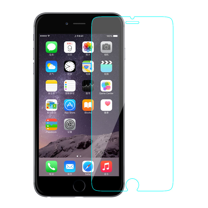 Clear Mobile Phone Screen Protector for iPhone 7