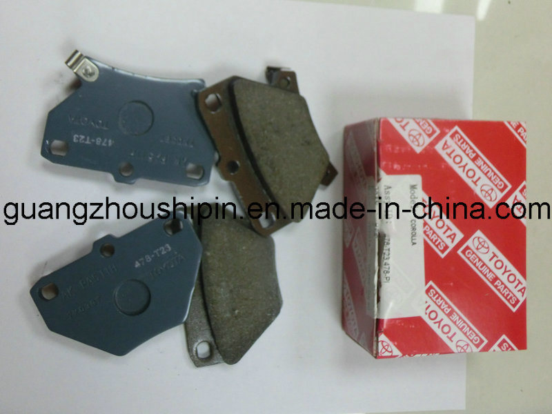 Rear Brake Pad for Toyota Corolla 04466-20090 Auto Parts