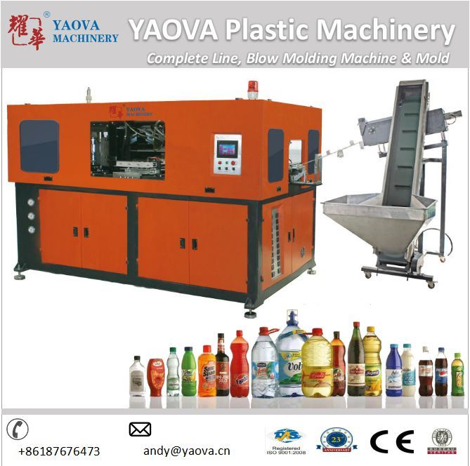 Blowing Machinery of 300ml 2 Cavity Pet Stretch Blow Molding Machine
