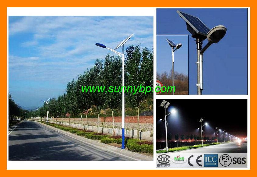 80W 6m Height Solar LED Street Light