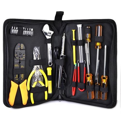 25-Piece Electronics & Hand Tool Kit