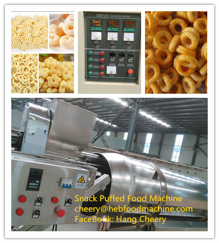 China Hot Sell Customized Cheap Snack Puffed Food Making Machine