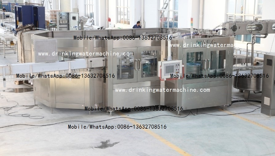 20000bph Pure Mineral Water Filling Bottling Packing Machine