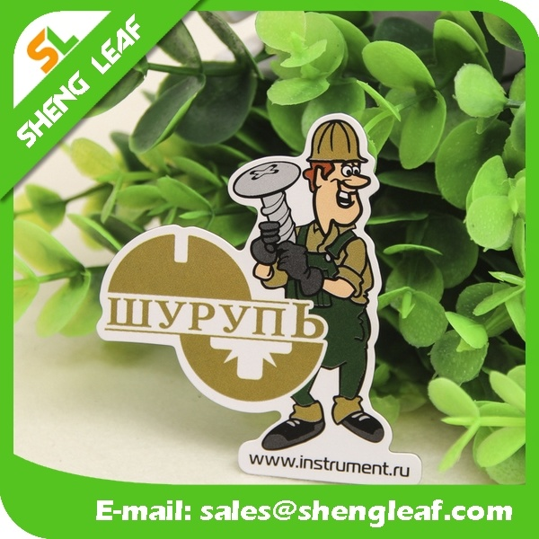 Promotional Paper Printed Cheap Souvenir Fridge Magnet Wholesale