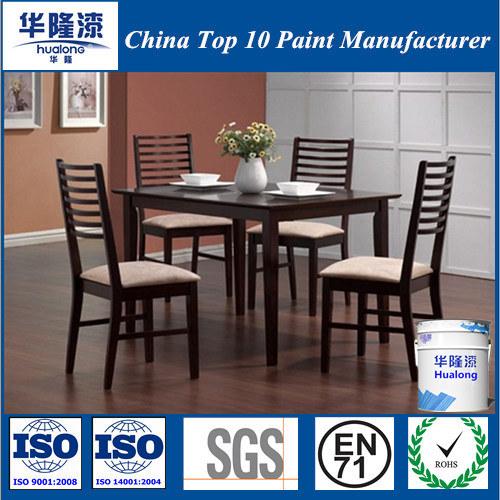 Hualong PU Standard Odourless Shining Furniture Paint for Wood (HJ2010B)