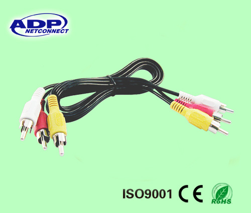 Udio Video Power Security Camera Cable CCTV DVR Surveillance Cord RCA Cable