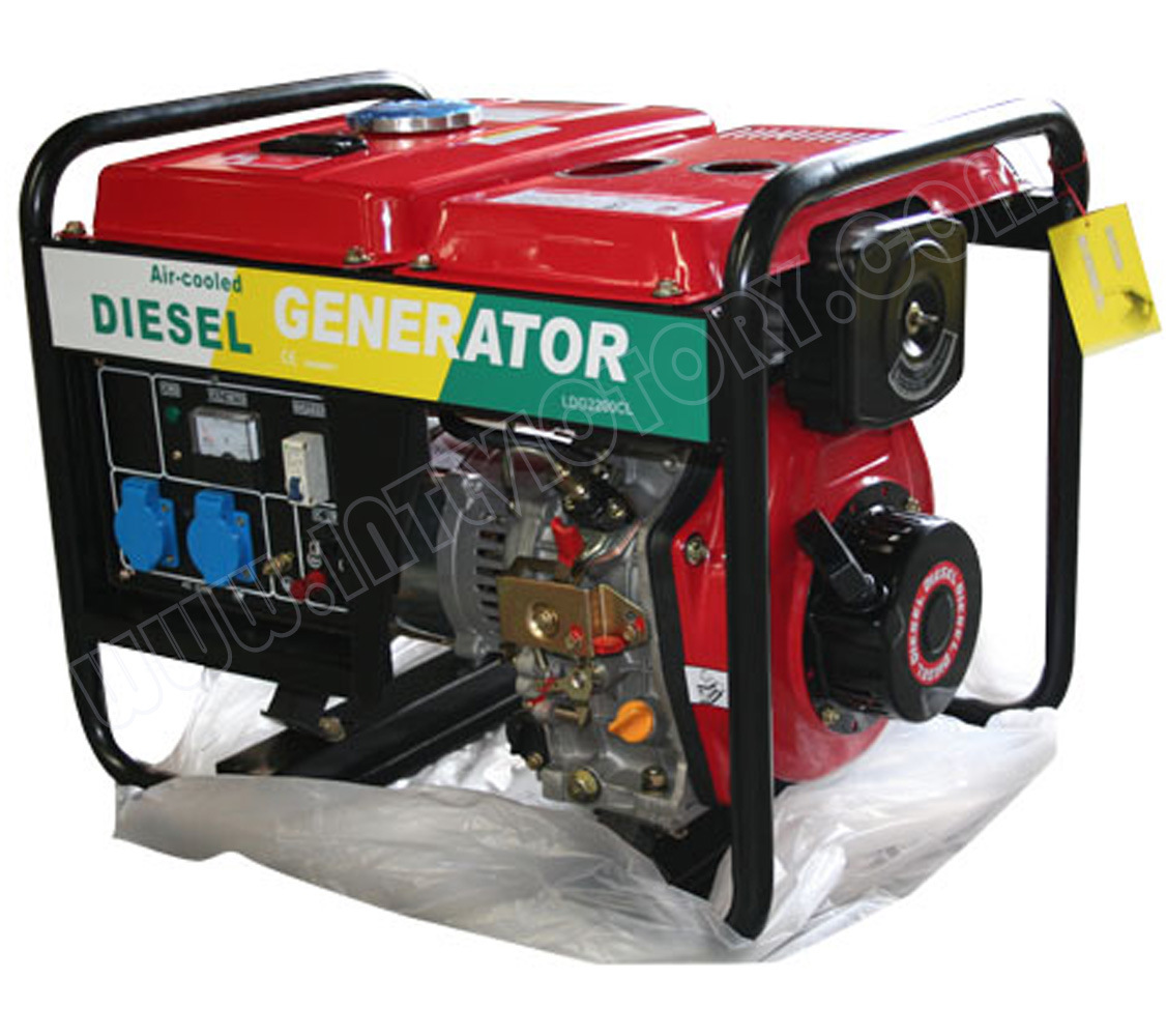 2kVA~12kVA Diesel Portable Power Generator with Ce/Soncap Approval