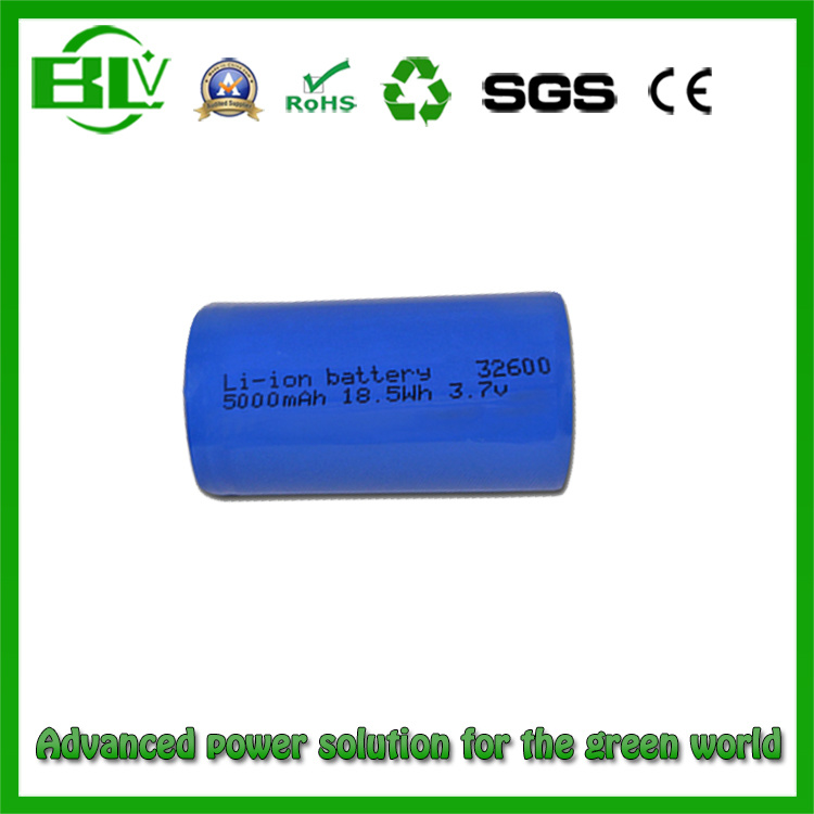3.7V 3500mAh 32600 Battery Cell Li-ion Rechargeable Batteries Cylindrical