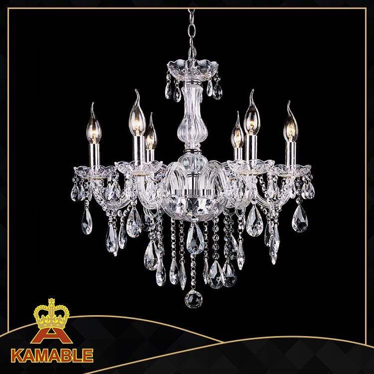 Living Room Decorative Glass Crystal Light (KA8693-6)