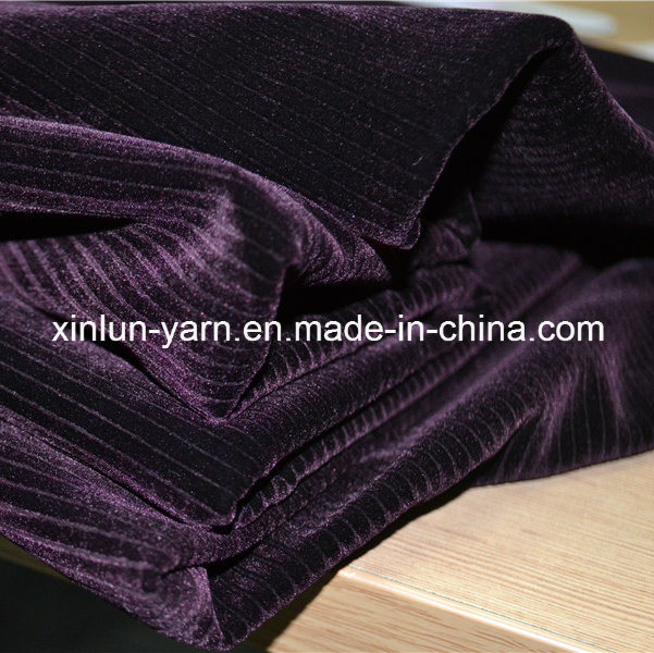 100% Polyester Brush/Coated/Bonded/Flocking Polyester Velvet Fabric for Garment/Shoes/Sofa