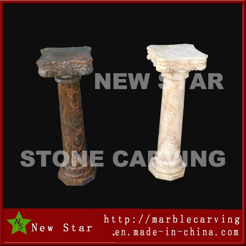 Interior Small Stone Column Decoration