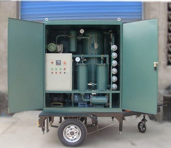 Mobile Double-Stage Vacuum Insulation Oil Purifier