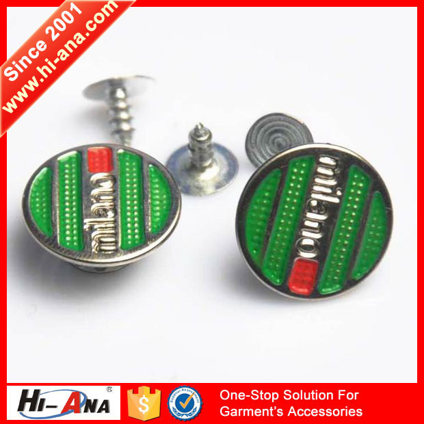 Myra Trust Our Quality Various Colors Alloy Button